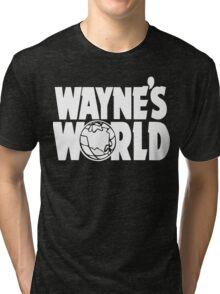 Wayne's World (HD vector graphic) Tri-blend T-Shirt