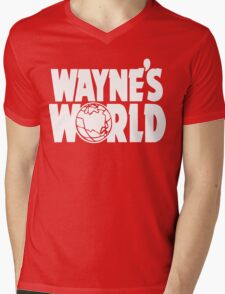 Wayne's World (HD vector graphic) Mens V-Neck T-Shirt
