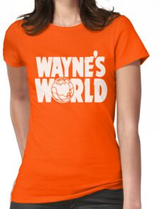 Wayne's World (HD vector graphic) Womens Fitted T-Shirt