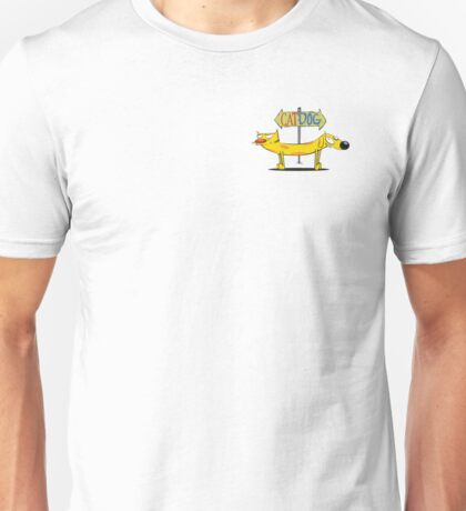 CatDog Pocket Tee Unisex T-Shirt