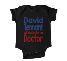 Dr. David Tennant One Piece - Short Sleeve