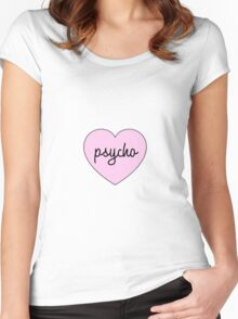 Heart Psycho Women's Fitted Scoop T-Shirt