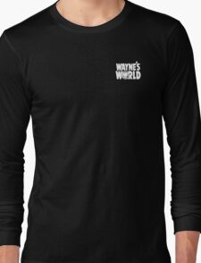 Wayne's World POCKET TEE Long Sleeve T-Shirt