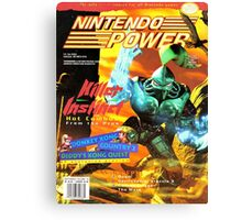 Nintendo Power - Volume 76 Canvas Print