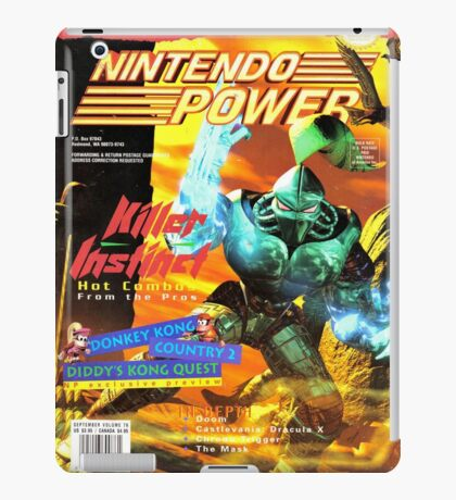 Nintendo Power - Volume 76 iPad Case/Skin