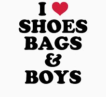 Shoes, Bags & Boys Funny Quote Womens Fitted T-Shirt