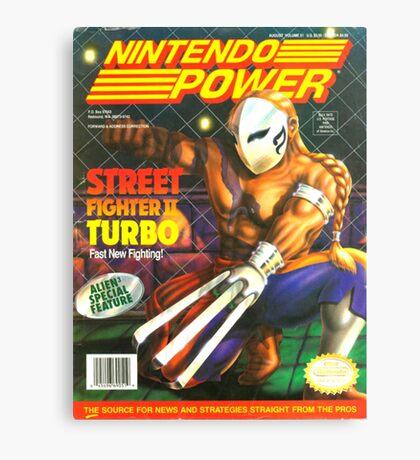 Nintendo Power - Volume 51 Canvas Print