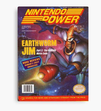 Nintendo Power - Volume 67 Canvas Print
