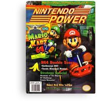 Nintendo Power - Volume 93 Canvas Print