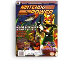 Nintendo Power - Volume 98 Canvas Print