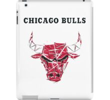 Chicago bull crack iPad Case/Skin