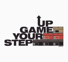 Step Your Game Up Sneakerhead by AiReal Apparel One Piece - Long Sleeve