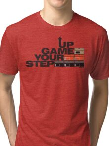 Step Your Game Up Sneakerhead by AiReal Apparel Tri-blend T-Shirt
