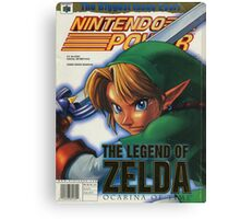 Nintendo Power - Volume 114 Canvas Print