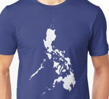 Philippines Islands Map by AiReal Apparel Unisex T-Shirt