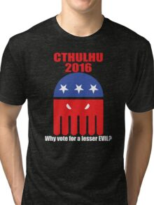 Cthulhu For President 2016 Tri-blend T-Shirt