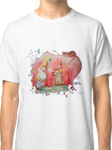 Alice in Worderland, opening the small door fanart Classic T-Shirt