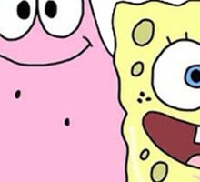 Spongebob and Patrick Sticker