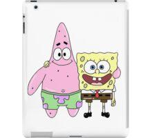 Spongebob and Patrick iPad Case/Skin