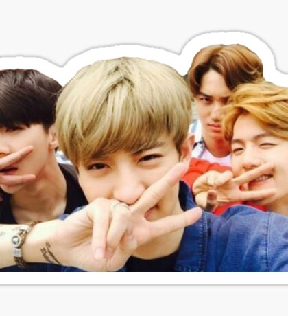 Exo - Squad Goals Sticker