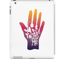 jazz touch me iPad Case/Skin