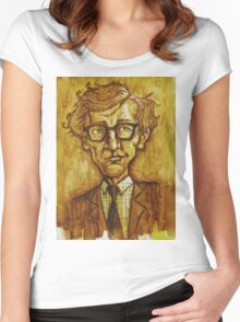 Woody Allen Women's Fitted Scoop T-Shirt