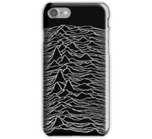 Joy Division - Unknown Pleasures iPhone Case/Skin