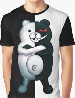 Monokuma - Danganronpa  Graphic T-Shirt