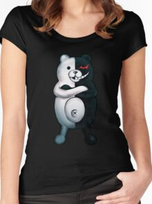 Monokuma - Danganronpa  Women's Fitted Scoop T-Shirt