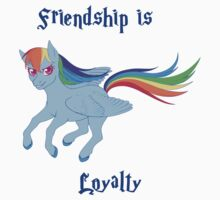 Friendship is Loyalty Kids Tee