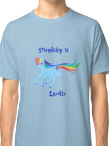 Friendship is Loyalty Classic T-Shirt