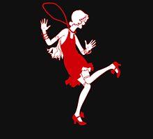 red flapper girl Unisex T-Shirt
