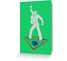 DDR Saturday Night Fever Greeting Card