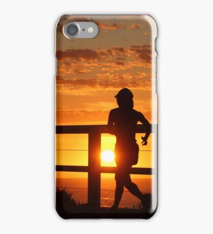 Sunrise Run, Bronte Beach, Australia iPhone Case/Skin