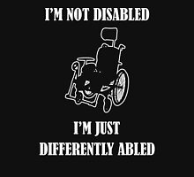 Differently Abled Does Not Equal Disabled Unisex T-Shirt