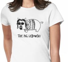 The Pig Lebowski Womens Fitted T-Shirt