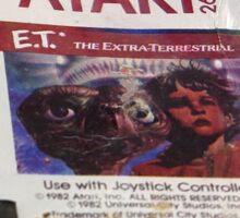 ATARI E.T. Sticker