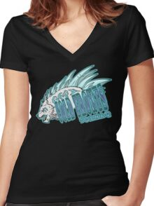 Team Tornaq Women's Fitted V-Neck T-Shirt
