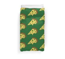 Broccoli Pizza Duvet Cover