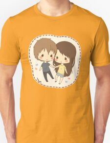 cute chibi couple  T-Shirt