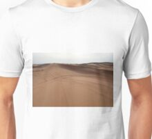Sand dunes in the desert. Unisex T-Shirt
