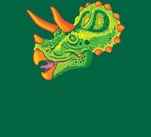 Triceratops (lime) Unisex T-Shirt