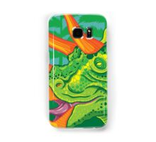 Triceratops (lime) Samsung Galaxy Case/Skin
