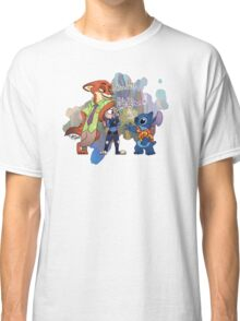 Stitch In Zootopia Classic T-Shirt