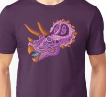 Triceratops (grape) Unisex T-Shirt