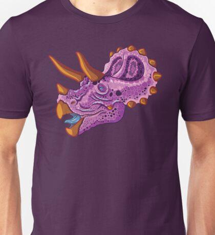 Triceratops (grape) Unisex T-Shirt