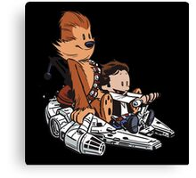 Chewie And Han Canvas Print