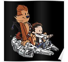 Chewie And Han Poster