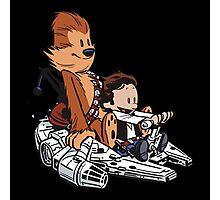 Chewie And Han Photographic Print