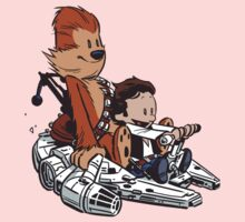 Chewie And Han Baby Tee